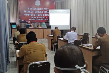 Pengumuman Hasil Seleksi Administrasi Seleksi Terbuka Pengisian JPT Pratama Kepala Disdukcapil Kab. Aceh Timur