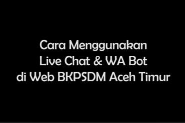 BKPSDM Sosialisasikan TRANS4+ pada Pegawai Aceh Timur
