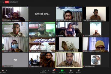 BKPSDM Ciptakan Video Tutorial Penggunaan Aplikasi TRANS4+