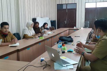 Rapat Koordinasi Persiapan TRANS4+ di BKPSDM Aceh Timur