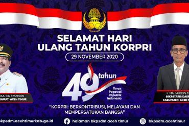 Tahun 2021 Pemkab Aceh Timur akan terapkan e-Kinerja pada seluruh OPD